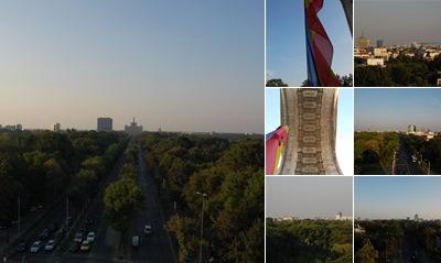 Vizualizare Arcul de Triumf septembrie 2011
