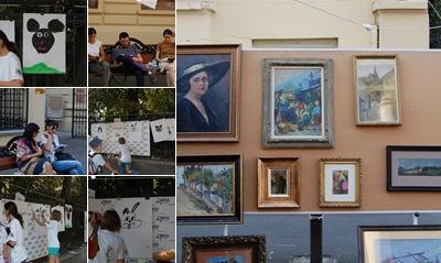 Vizualizare Strada Cartii - Bucuresti, septembrie 2011