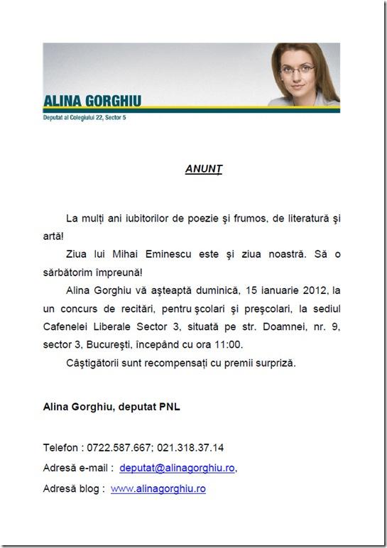 alina - eminescu