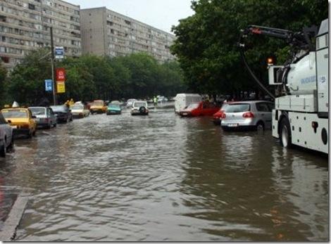 strazi-inundate-bucuresti