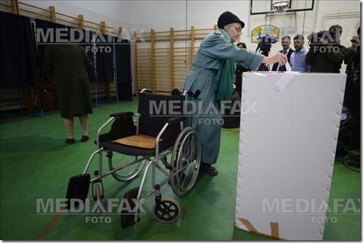 ALEGERI PREZIDENTIALE - 2014 - BUCURESTI