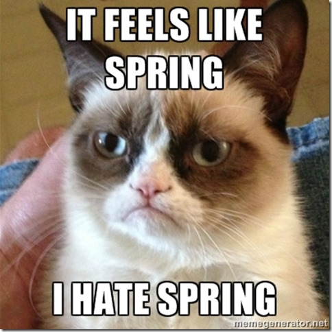 i hate spring