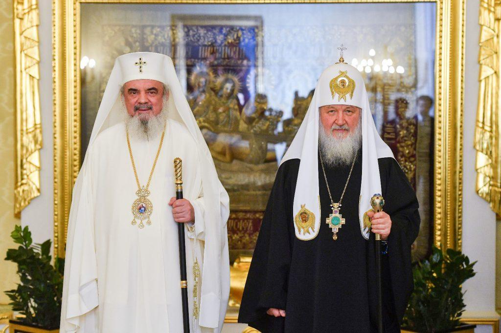 Patriarhul-Kirill-și-Patriarhul-Daniel-Întâlnire-Moscova